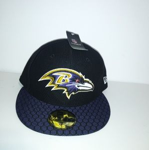 59fifty New Era Baltimore Ravens Hat Cap Size 7
